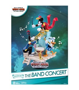 Disney Mickey Mouse D-Stage - Diorama The Band Concert