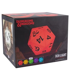 Lampada Da Tavolo Dungeons & Dragons D20 Light