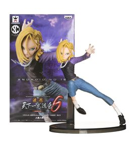 Figure Android C-18 Scultures - Dragonball Z - Version A