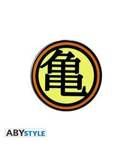 Dragon Ball - Spilla - Pin - Abystyle - Kame House - Genio Delle Tartarughe - Metallo - 3 Cm