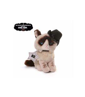 Enesco - Gund - Peluche Beanbag Cowboy - Grumpy Cat