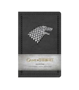 Hbo - Game Of Thrones - Il Trono Di Spade - Ruled Notebook House Stark - Quaderno 128 Pagine