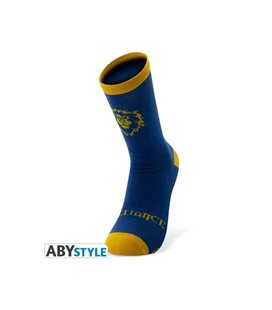 Abystyle - Crew Socks - Warcraft - Calzettoni Taglia Unica Blue