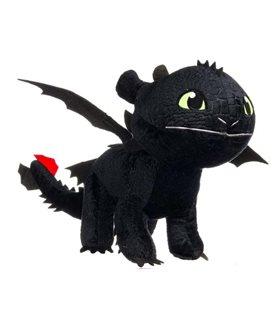 How To Train Your Dragon 3 - The Hidden World - Plush Figure -Toothless - Niight Fury 60 Cm