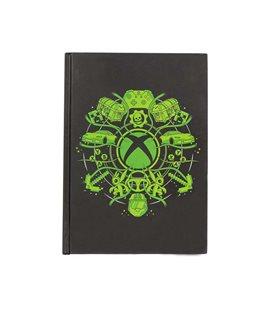Xbox Notebook Light Up Logo Quaderno Luminoso A Batterie Incluse 14,8 X 21 Cm A5