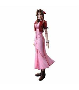 Crisis Core Final Fantasy Vii - Action Figure Aeris Aerith Gainsborough 25Cm