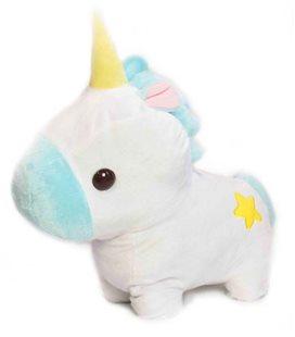 Amuse- Plush/Pupazzo Unicorn/Unicorno - A 38Cm