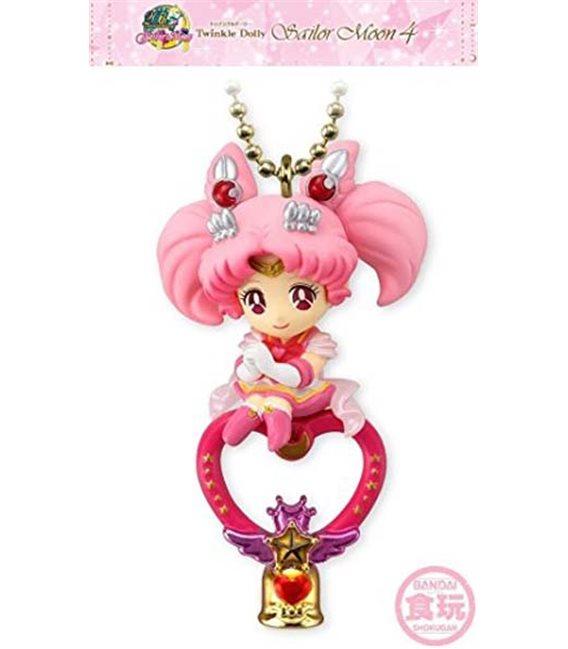 Sailor Moon - Keyring/Portachiavi Super Sailor Chibi Moon & Crystal Carillon