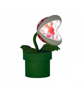 Lampada Super Mario: Pianta Piranha - Scala 1/1 - 30 Cm - Paladone