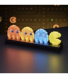 Pac Man - Ghosts and Light - Lampada ufficiale - 30 x 10 cm