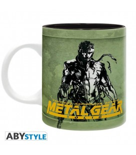Tazza Metal Gear Solid Foxhound- 320 Ml - Abystyle