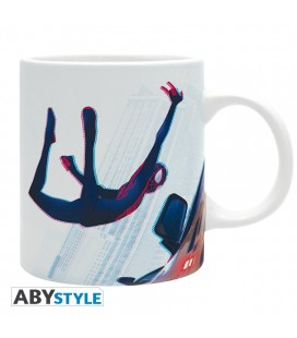 """Tazza Spiderman """"Miles Morales"""" in volo - 320 ml - Abystyle"""