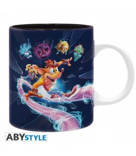 Tazza Crash Bandicoot It'S About Time - 320 Ml - Abystyle