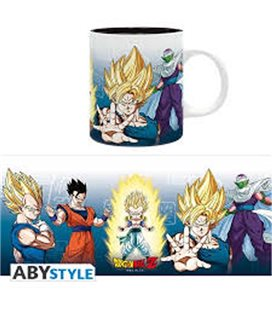Dragon Ball Z - Mug Tazza 320Ml - Saiyans & Piccolo