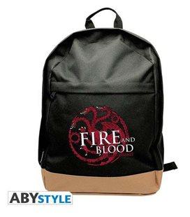Game Of Thrones - Backpack/Zaino - Targaryen